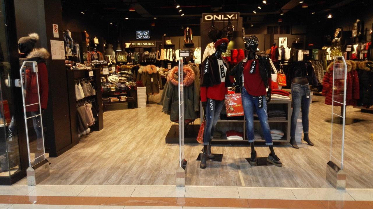 sistema antitaccheggio per negozi di abbigliamento cristal
