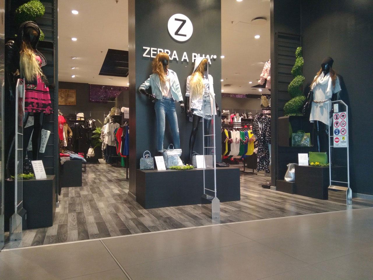 impianto antitaccheggio Terna Cristal zebra a Puà