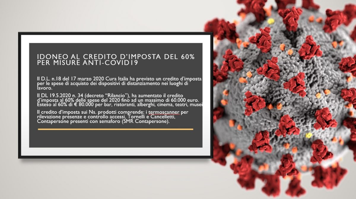 CREDITO D'IMPOSTA COVID19
